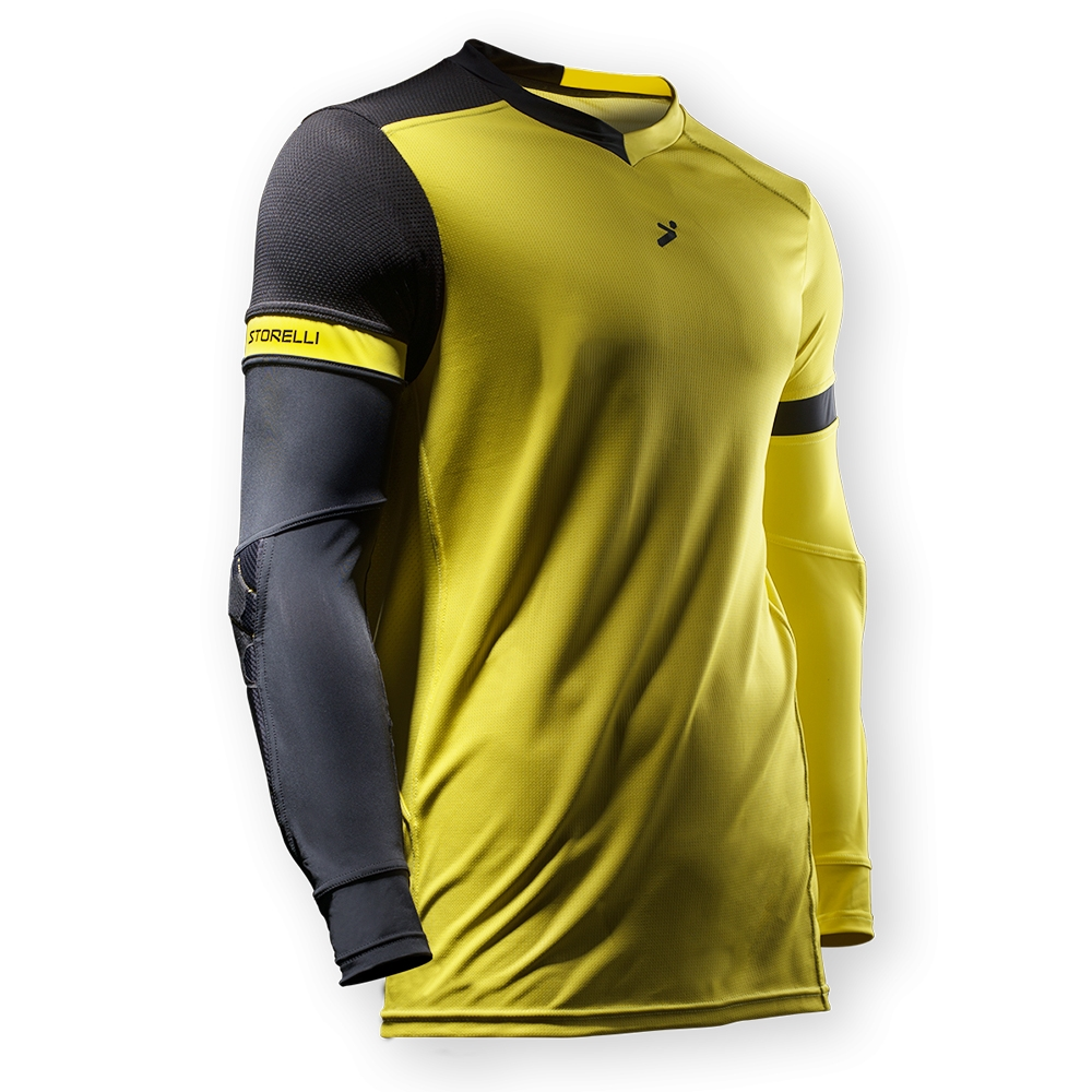bea4953029a $58.49 - Storelli ExoShield Gladiator Goalkeeper Jersey (Yellow ...