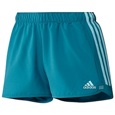 Adidas Women's Speed Kick Shorts (Vivid Teal Blue)
