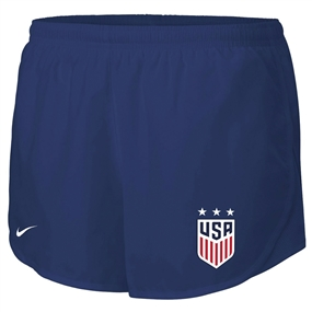 Nike Women's USA Mod Tempo Shorts (Navy)