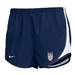 Nike Girl's USWNT Tempo Shorts (Navy)
