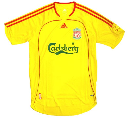 buy online 55427 5c655 Adidas Liverpool Away Replica '06-'07 Jersey (Yellow)