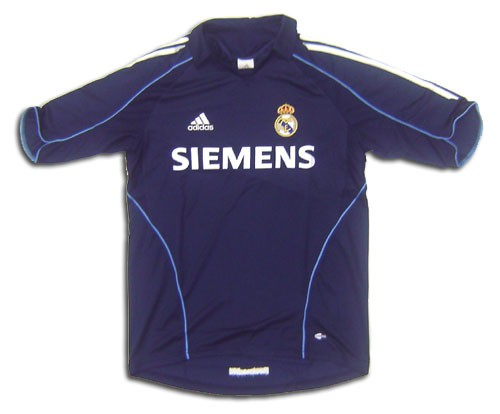 hot sale online 6e950 1821d Adidas Real Madrid Away Replica 06' Jersey