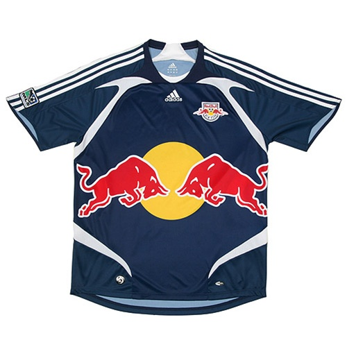 detailing 1c0a3 7d66c Adidas New York Red Bulls Away Replica 2008 Jersey (Navy/White)