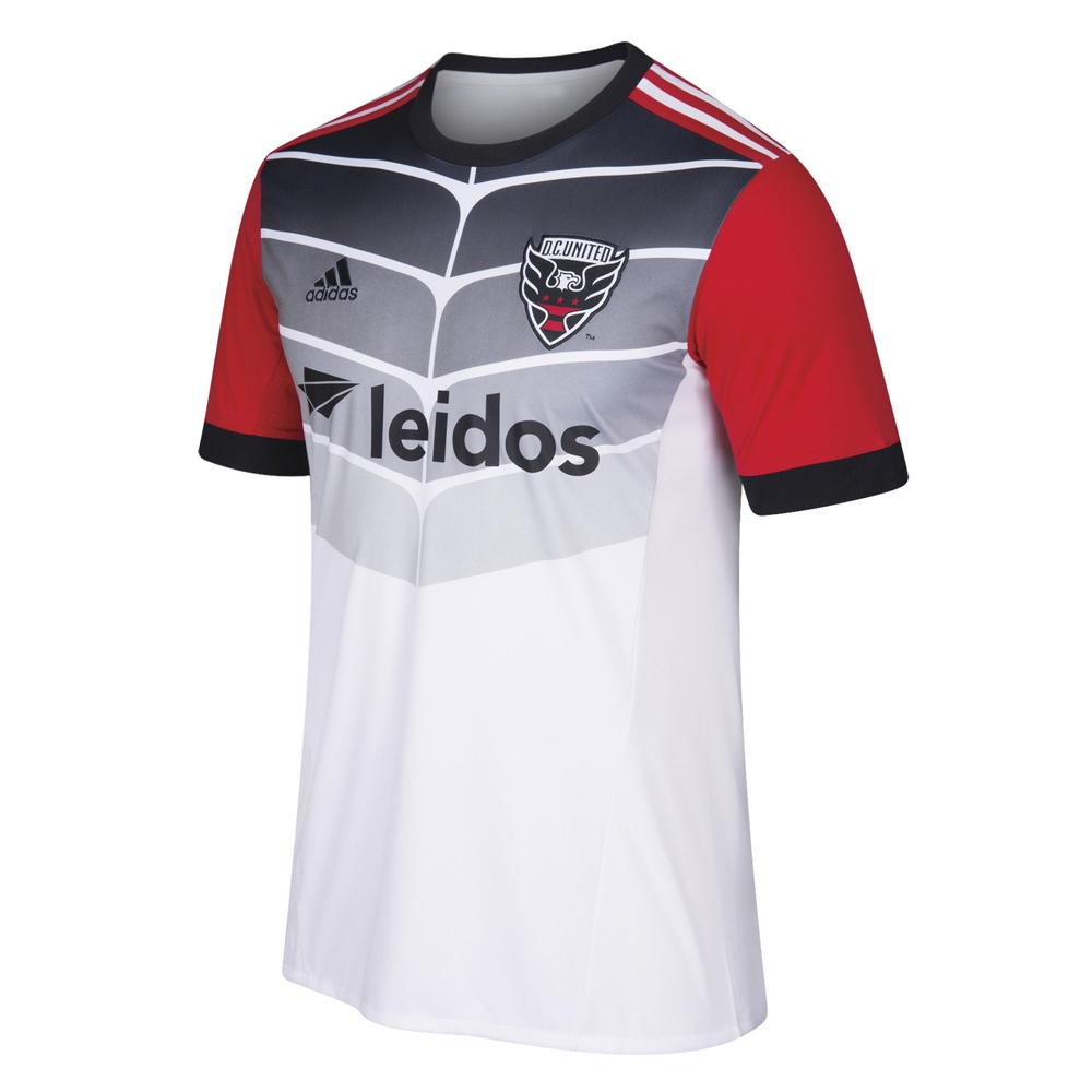 Adidas MLS D.C. United 2018 Secondary Replica Jersey (White)  0d54ce12d