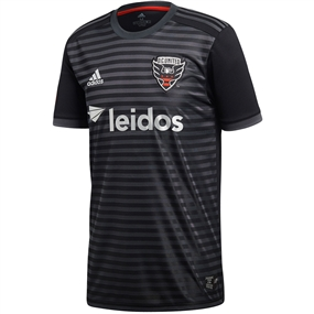 Adidas MLS D.C. United 2018 Primary Replica Jersey (Black)