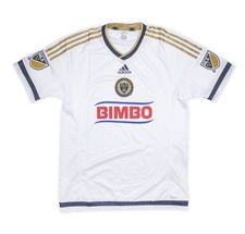 Adidas MLS Philadelphia Union 2015-16 Secondary Away Authentic Soccer Jersey
