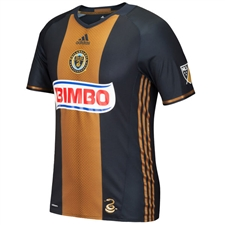 Adidas MLS Philadelphia Union 2016-17 Authentic Primary Soccer Jersey