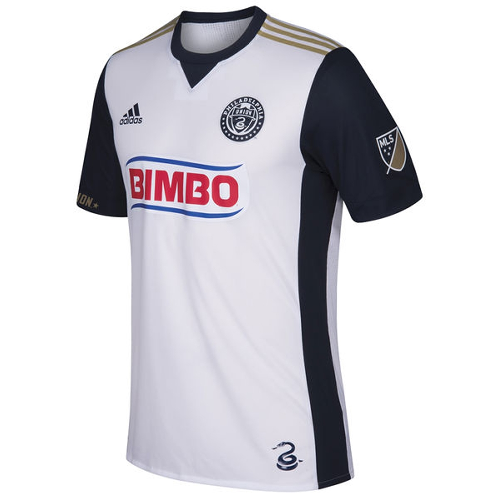 sports shoes 0f112 dcfb1 Adidas MLS Philadelphia Union 2017 Secondary Authentic Soccer Jersey