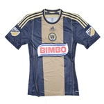 Adidas MLS Philadelphia Union 2015 Primary Authentic Soccer Jersey