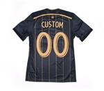 Adidas MLS Philadelphia Union 2014-2015 Home 'CUSTOM' Authentic Soccer Jersey