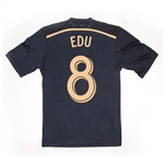 Adidas MLS Philadelphia Union 2014-2015 Home 'EDU 8' Replica Soccer Jersey