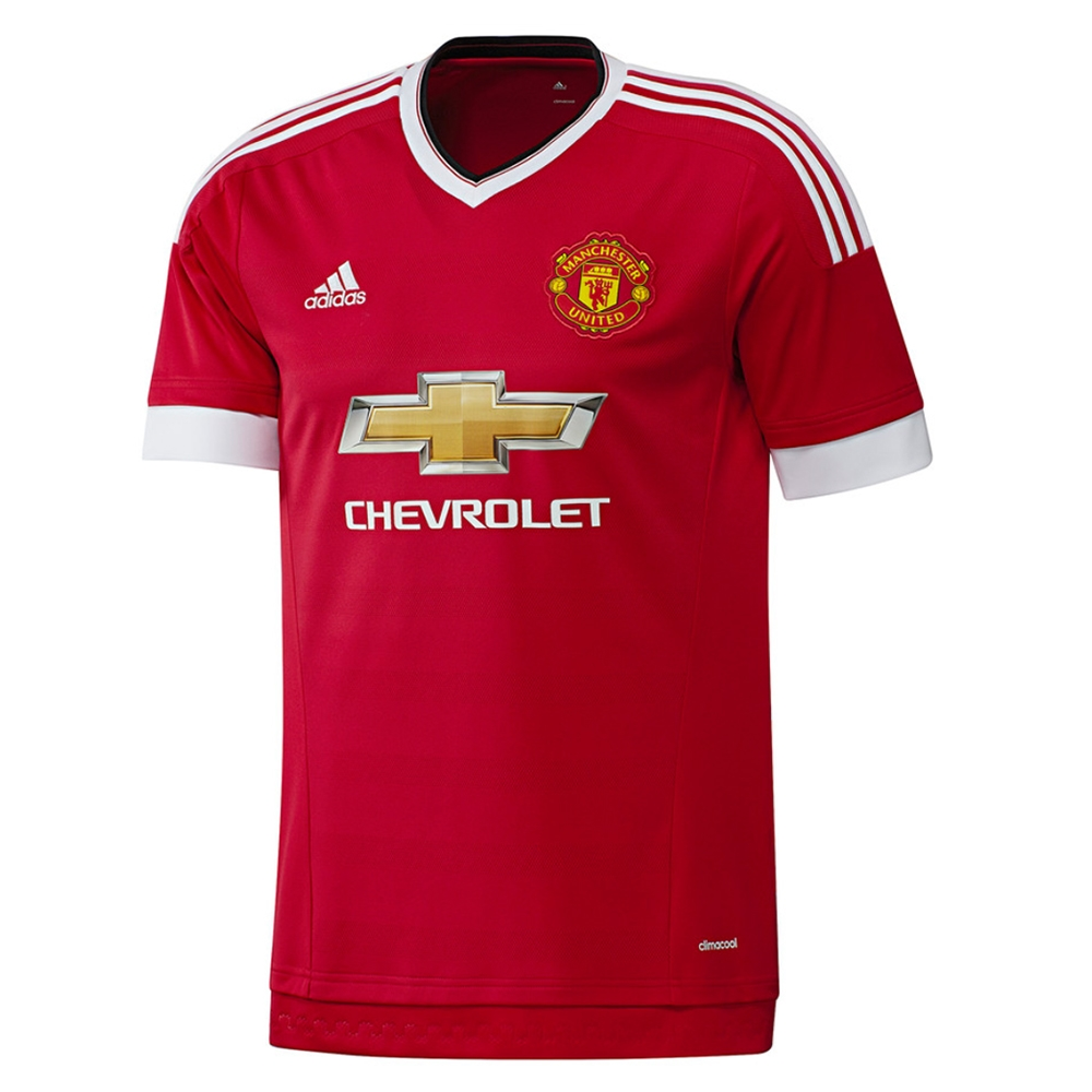 0de8a23be  89.99 Add to Car for Price - Adidas Manchester United Home  15- 16 Soccer  Jersey (Real Red White Black)