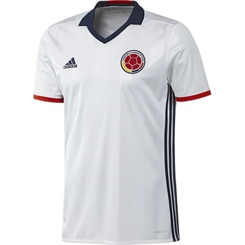 1f0674f68  89.99 Add to cart to see price - Adidas Colombia Home 2016 Soccer Jersey ( White Collegiate Navy Red)