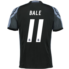 Adidas Real Madrid 'BALE 11' Third '16-'17 Soccer Jersey (Black/Purple)