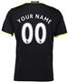 "Adidas Chelsea ""CUSTOM"" Away '16-'17 Replica Soccer Jersey (Black/Grey/Solar Yellow)"