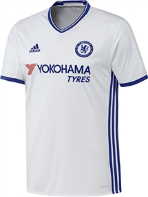 Adidas Chelsea Third '16-'17 Soccer Jersey (White/Chelsea Blue)