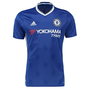 Adidas Chelsea Home '16-'17 Replica Soccer Jersey (Chelsea Blue/White)