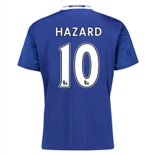 Adidas Chelsea 'HAZARD 10' Home '16-'17 Soccer Jersey (Chelsea Blue/White)