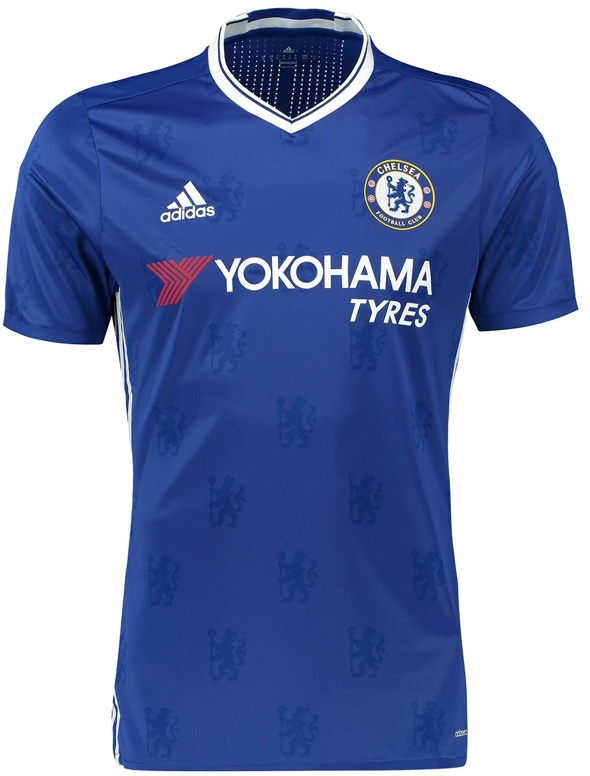 free shipping f7a64 4cd7c Adidas Chelsea 'KANTE 7' Home '16-'17 Soccer Jersey (Chelsea Blue/White)