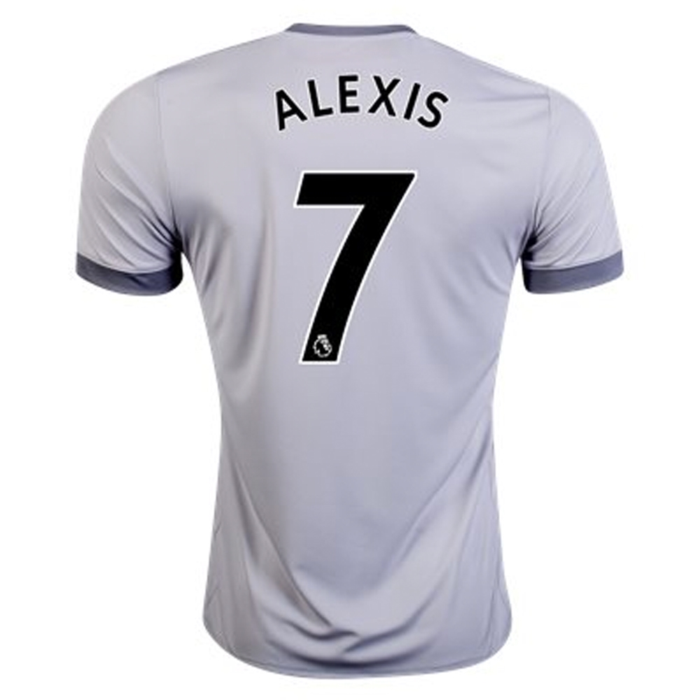 Adidas Manchester United  ALEXIS 7  Third  17- 18 Soccer Jersey ... f1dbf0c7e