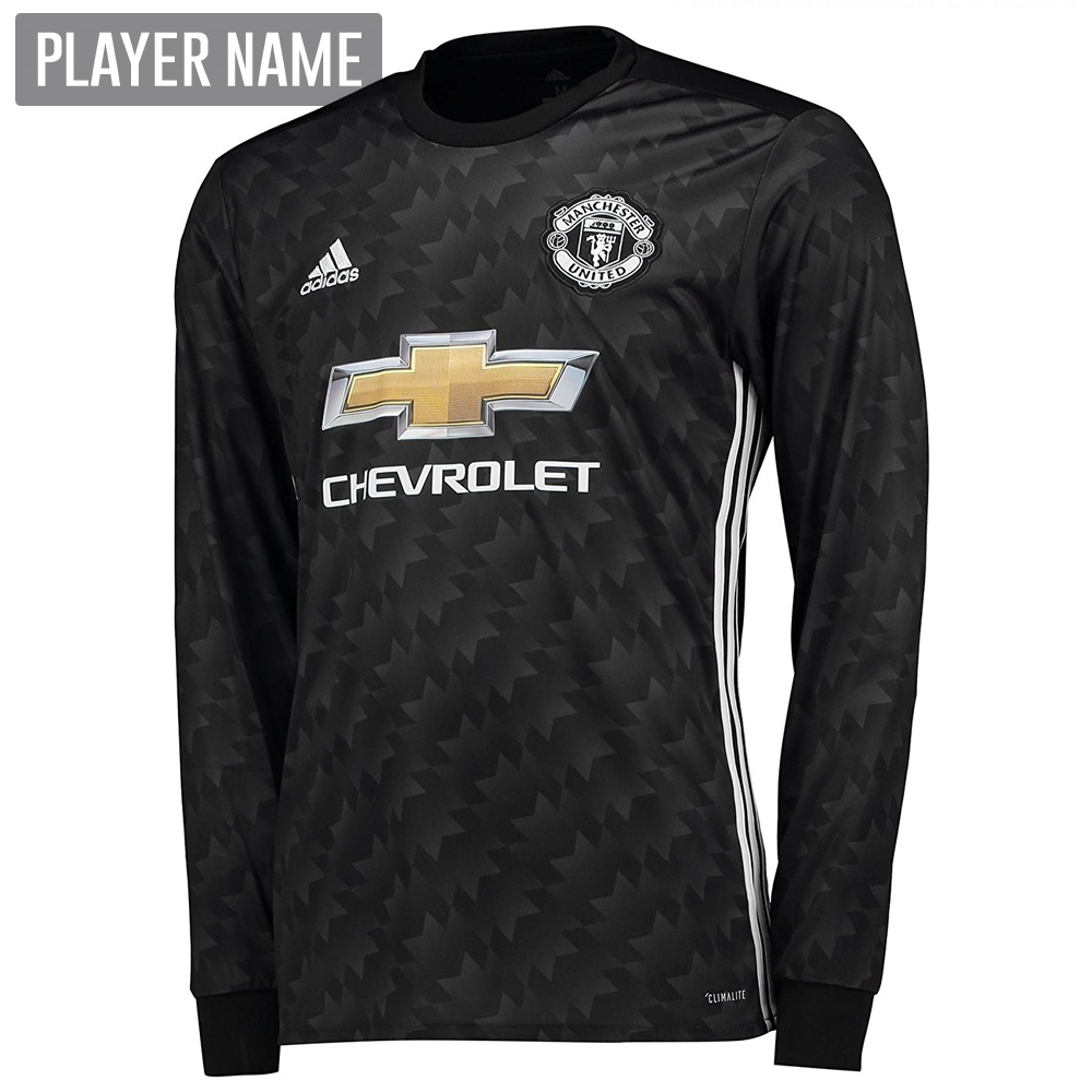 a3f3008b003 Adidas Manchester United Away  17- 18 Long-Sleeve Soccer Jersey ...