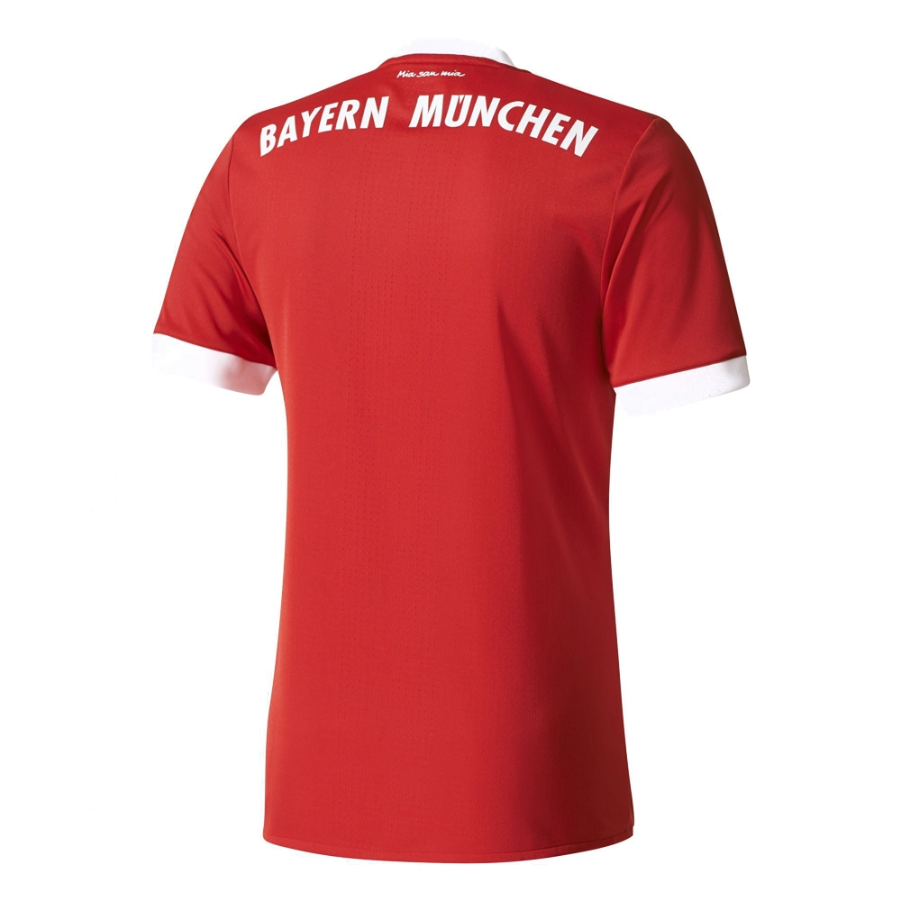 af3bd793d Adidas Bayern Munich Home Authentic '17-'18 Soccer Jersey (Red/White ...
