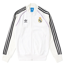 Adidas Real Madrid Training Top (White/Off White)
