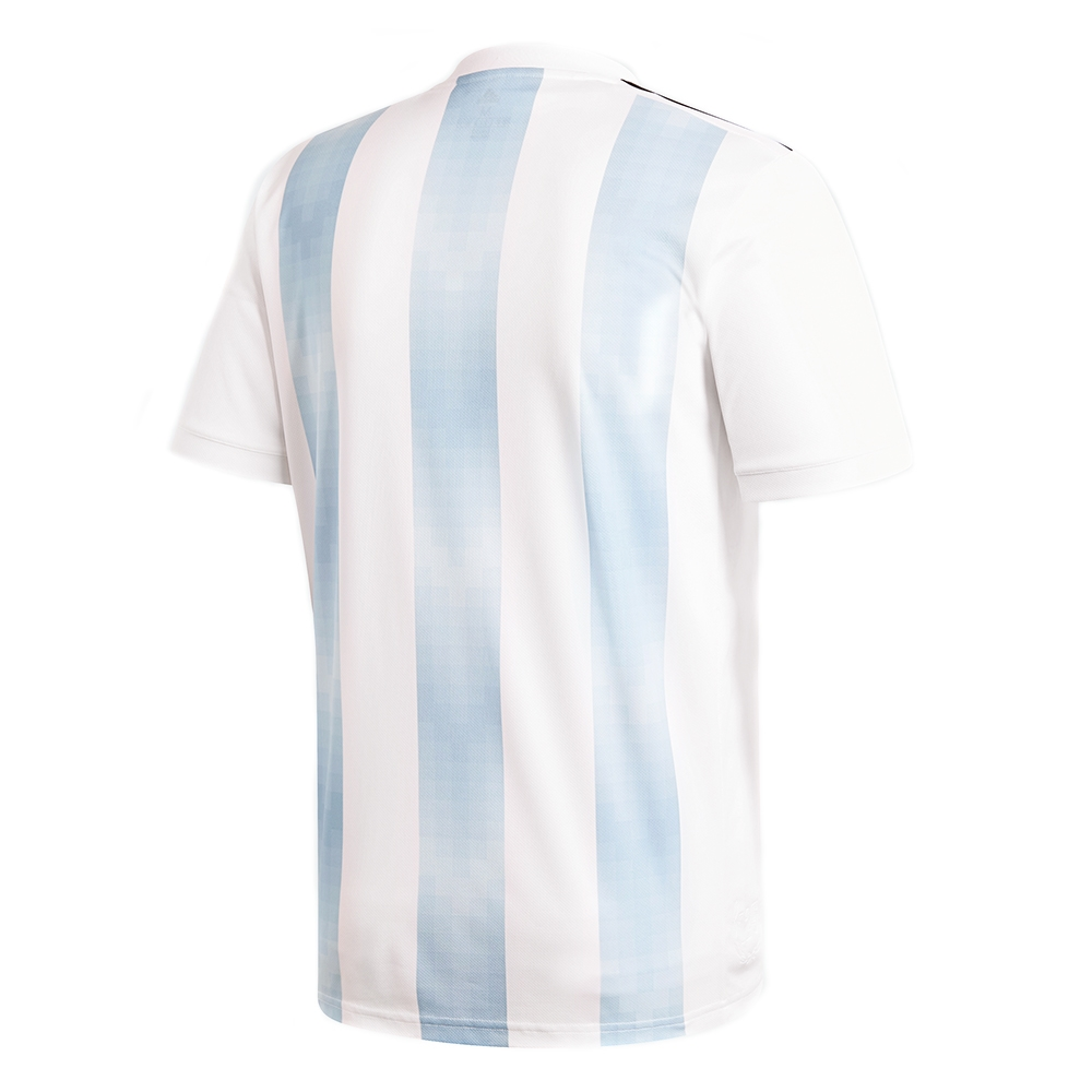 d9f55b7ef Adidas Argentina Home Jersey  18- 19 (White Clear Blue Black ...