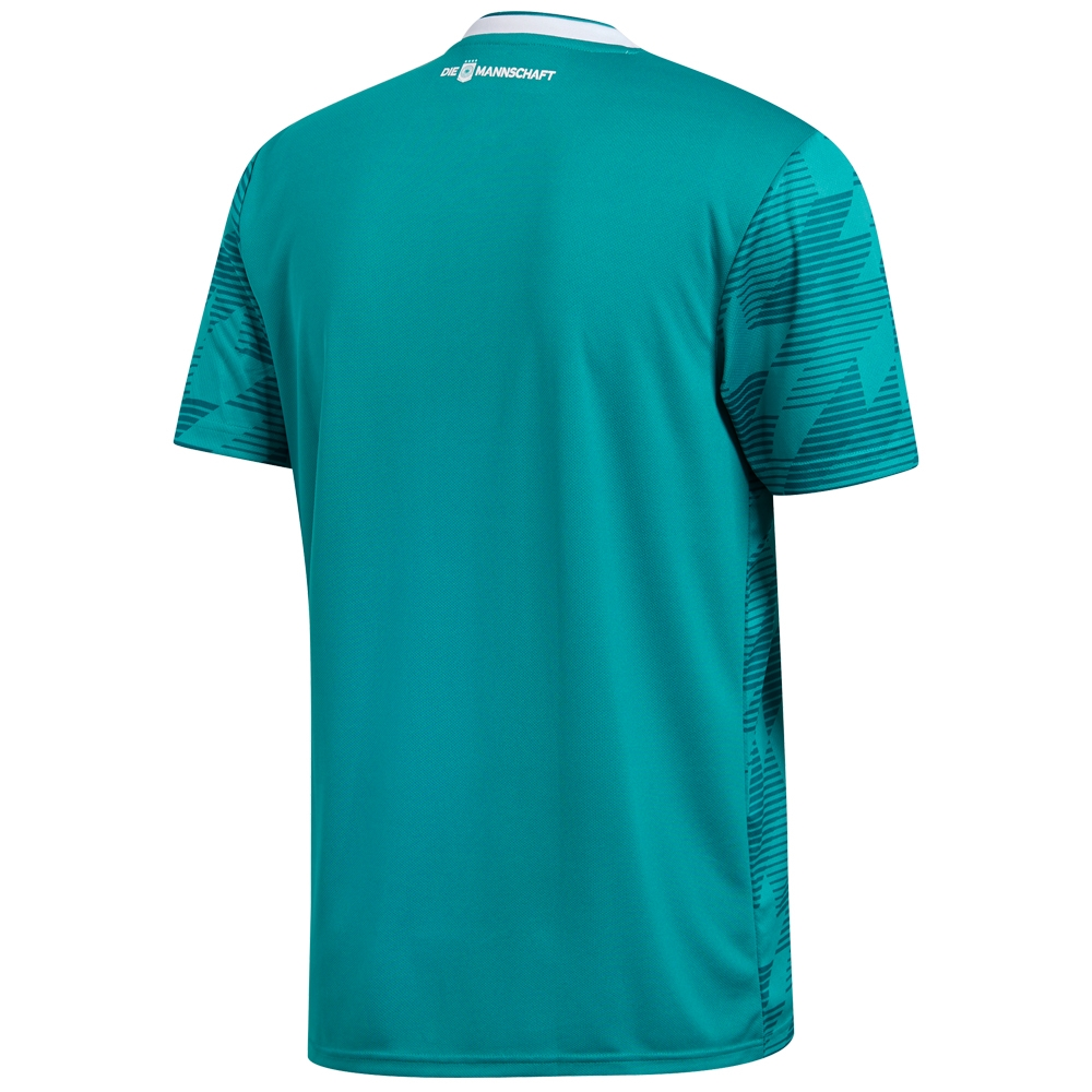 81f7e23119e1 Adidas Germany Away Jersey  18- 19 (EQT Green White Real Teal ...