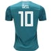 Adidas Germany 'OZIL 10' Away Jersey '18-'19 (EQT Green/White/Real Teal)