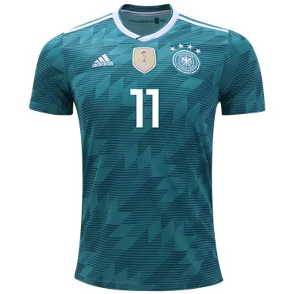 d115ffa5d Adidas Germany  REUS 11  Away Jersey  18- 19 (EQT Green White Real ...