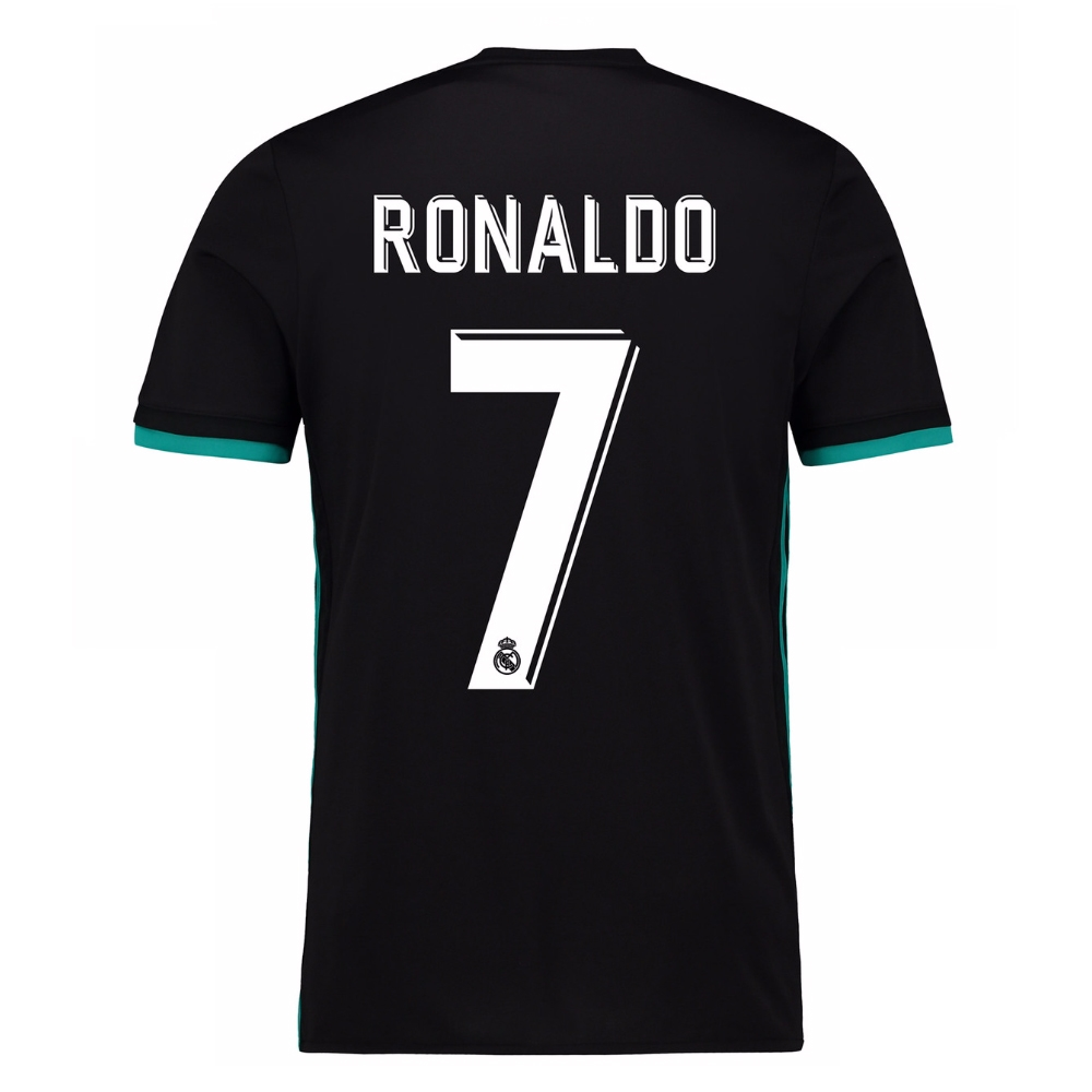 7f61e3741 ... reduced adidas real madrid ronaldo 7 away 17 18 soccer jersey 766a4  f706d