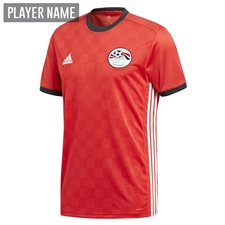 Adidas Egypt Home Jersey '18-'19 (Collegiate Red/Black)