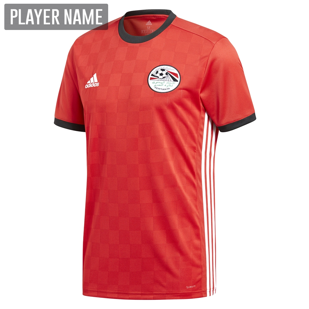 d0234269474 Adidas Egypt Home Jersey  18- 19 (Collegiate Red Black)