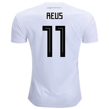 Adidas Germany 'REUS 11' Home Jersey '18-'19 (White/Black)
