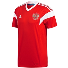 Adidas Russia Home Jersey '18-'19 (Red/White)
