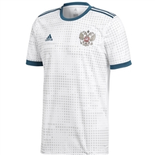 Adidas Russia Away Jersey '18-'19 (White)