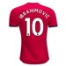 Adidas Manchester United 'IBRAHIMOVIC 10' Home '17-'18 Soccer Jersey (Real Red/White/Black)