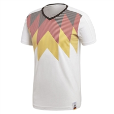 Adidas Germany World Cup 2018 T-Shirt (White/Black)