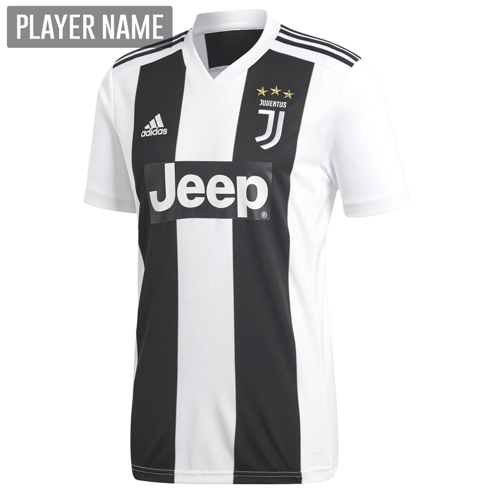 the best attitude 5f76f a6071 Adidas Juventus Home Jersey '18-'19 (Black/White)