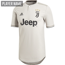 Adidas Juventus Away Authentic Jersey '18-'19 (Sesame/Clay)