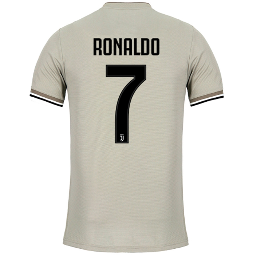 uk availability 998df fb2ac Adidas Juventus 'RONALDO 7' Away Authentic Jersey '18-'19 (Sesame/Clay)