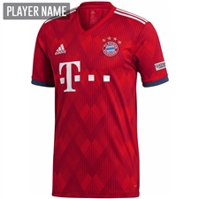 Adidas Bayern Munich Home Jersey '18-'19 (FCB True Red/Strong Red/White)