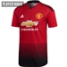 Adidas Manchester United Home Authentic Jersey '18-'19 (Real Red/Black)