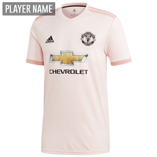 Adidas Manchester United Away Jersey '18-'19 (Icey Pink/Trace Pink/Black)