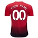 Adidas Manchester United 'CUSTOM' Home Jersey '18-'19 (Real Red/Black)