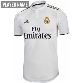 Adidas Real Madrid Home Authentic Jersey '18-'19 (Core White/Black)