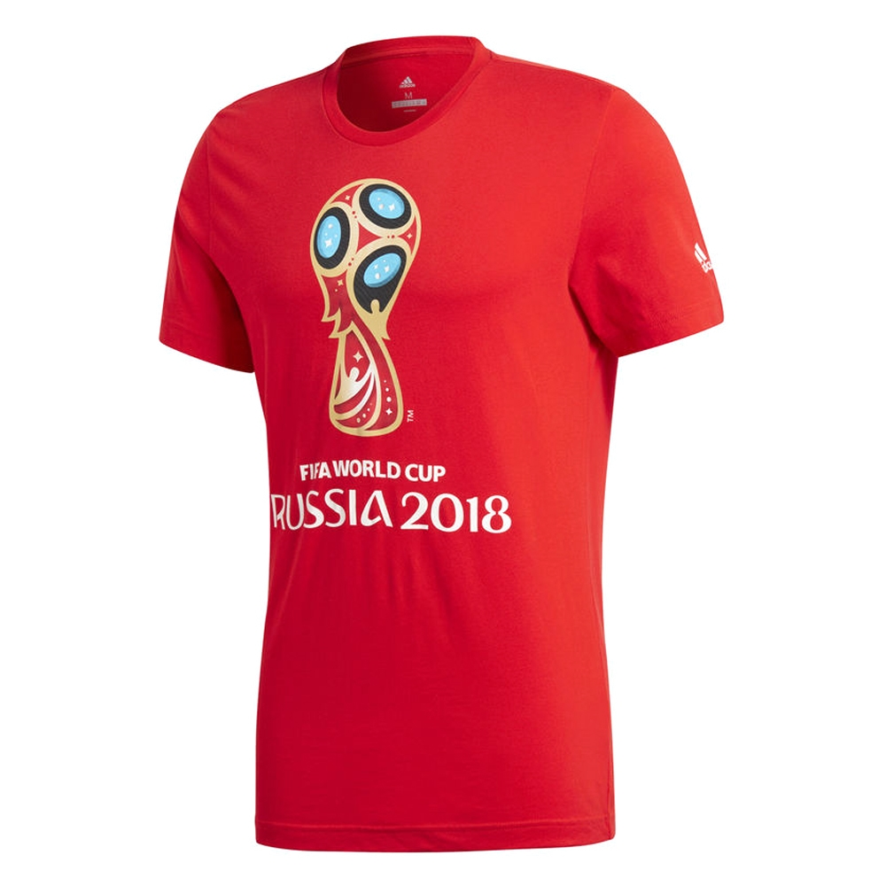 1307c67b0a6 Adidas FIFA World Cup Russia 2018 T-Shirt (Red)