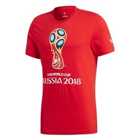Adidas FIFA World Cup Russia 2018 T-Shirt (Red)