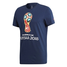 Adidas FIFA World Cup Russia 2018 T-Shirt (Collegiate Navy)